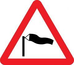 Warning of strong winds