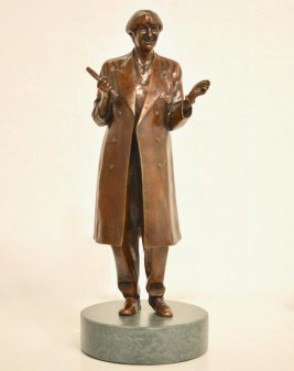 Limited edition Victoria Wood scale sculptures on sale