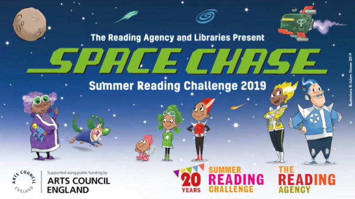 Children invited to join Space Chase at Bury libraries